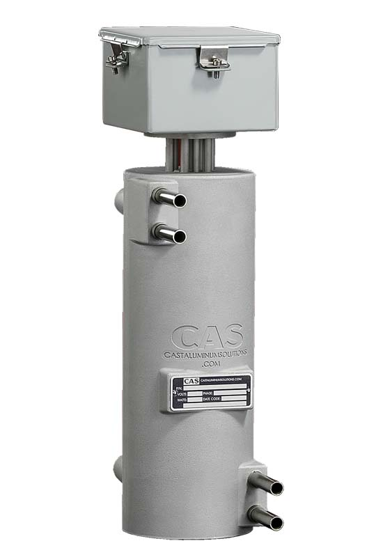 Because CAST-X 2500 in line heaters are perfect for heating liquids, they are equipped with moisture resistant NEMA 4 electrical enclosures.