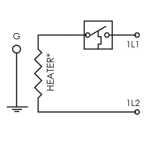 This thermostat circuit makes the CAST-X 1000 in-line circulation heater one of the best oil heaters available for warming nafta, benzene, and other explosive liquids and flammable gases.