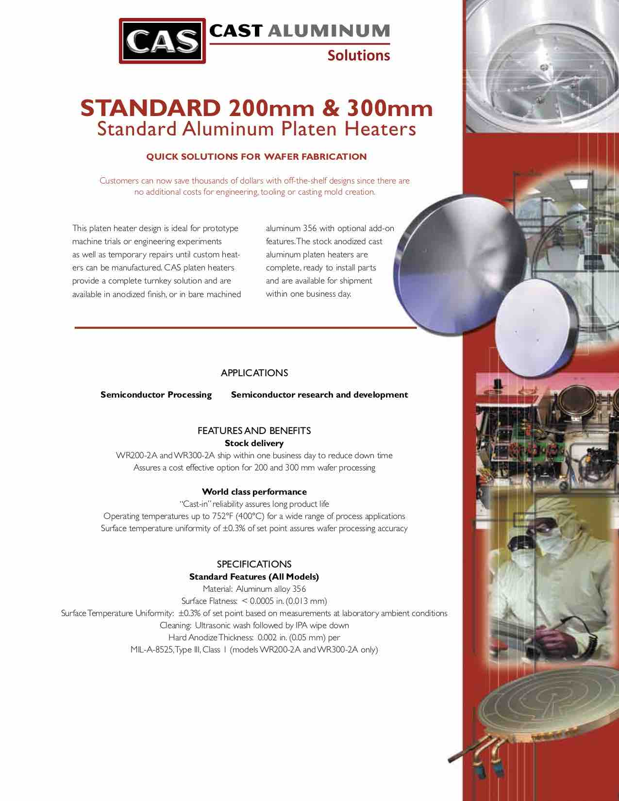 200 And 300 Mm Standard Platens Cast Aluminum Solutions (dragged)