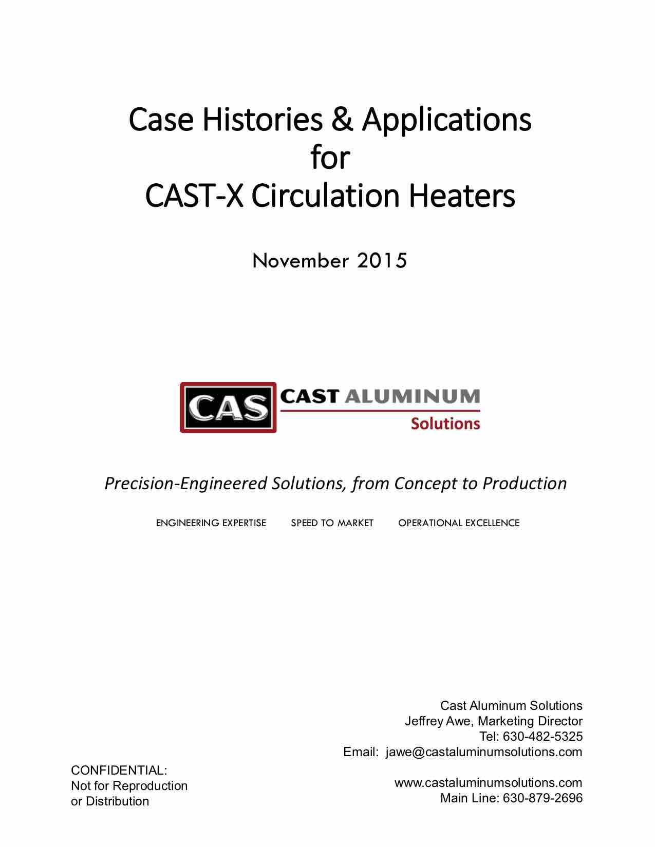 CAST X Circulation Heater Case Studies (dragged)