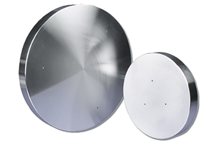 CAS manufactures many types of silicon wafer heater platens, including 200 mm and 300 mm products such as these, which can be anodized or high uniformity operating temperatures.