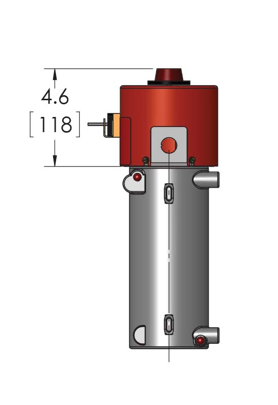 This CAST-X 1000 Circulation Heater is often used to heat oils for the compressor industry and diesel markets.