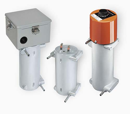 Customers purchase these CAST-X 1000 models as fuel and oil heaters, as they are compatible with flammable liquids and gases.