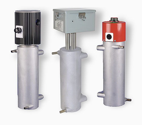 All models of CAST-X 2000 inline heaters, manufactured and sold by Cast Aluminum Solutions with warranties and customer satisfaction guaranteed.