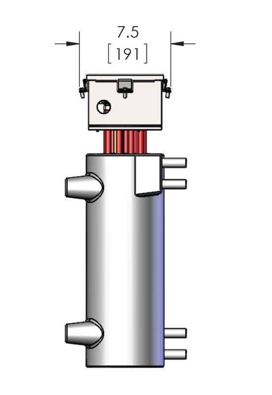 Here is a hig-quality inline natural gas heating product, the CAST-X 3000 circulation heater, featuring NEMA 4 and NEMA 7 components with isolated flowpaths for flammable or explosive environments.