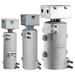 Here are CAST-X Heaters, used in dairy and juice pasteurization processes, and manufactured with SST Tubes by Cast Aluminum Solutions.