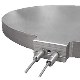 These vacuum brazed milled groove semi wafer chucks were manufactured by Cast Aluminum Solutions using high quality stainless steel and aluminum materials.