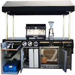 Cast Aluminum Solutions manufactures commercial hot water dispensers and coffee heaters for commercial beverage machines, as this example demonstrates.