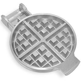 This is an example of an electric waffle heater, designed and manufactured by Cast Aluminum Solutions.