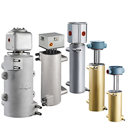 These are CAST-X Gas Cabinet heaters for liquid oxygen vaporizing and warming of regeneration gases, according to data from Cast Aluminum Solutions.