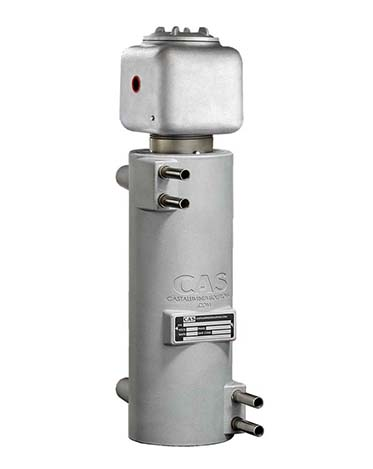 High resolution slideshow of CAST-X 2500 in line heaters showing product features & benefits, especially for hazardous location certification requirements.