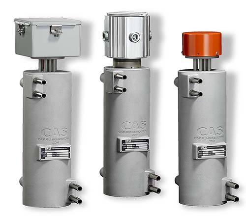 These CAST-X in line heaters are manufactured to safely heat flammable gases and explosive liquids.