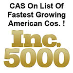 Cast Aluminum Solutions LLC was awarded this Inc. 5000 for successful sales of industrial heaters.