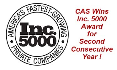 Cast Aluminum Solutions wins Inc 5000 Award for performance in manufacturing custom engineered Heat Exchangers.