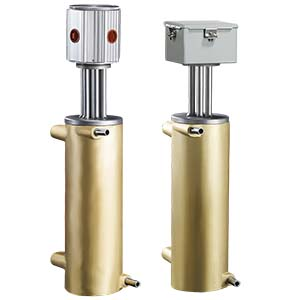 The CAST-X High Temp 2000 circulation heater from Cast Aluminum Solutions in Batavia features a stainless steel tube and explosion proof components,