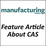 Magazine article with details about custom heated components manufactured by Cast Aluminum Solutions.